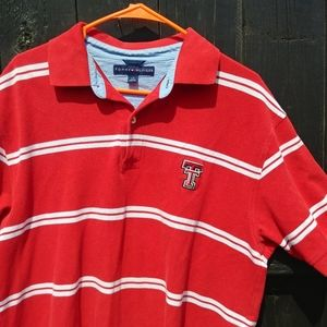 Tommy Hilfiger Texas Tech Large Polo Shirt